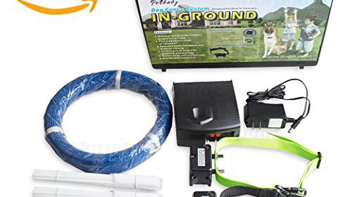 morpilot high performance electronic pet fencing system wireless dog fence with tone u0026 shock pulse stimulus collar saft u0026 effective wireless