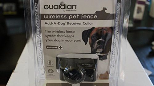 Guardian Wireless Pet Fence Add A Dog Receiver Collar