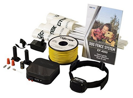 Dogtek Ef 4000 Electronic Dog Fence System Wireless Dog