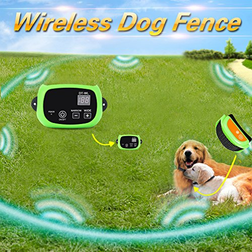 Wireless Dog Fence For Home And Field Usage With Built In