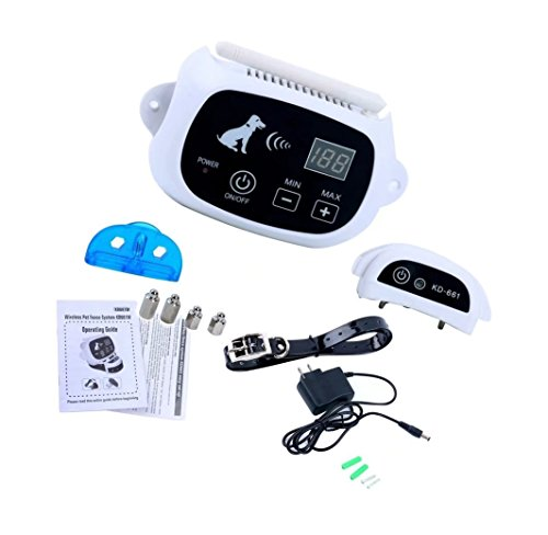 Honscreat Dog Fence Wireless Containment System Focuspet