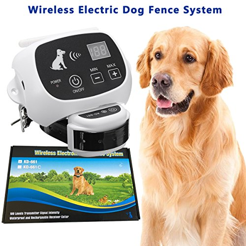 Invisible Wireless Dog Fence System Outdoor Electronic