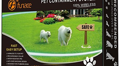 1 Dog Wireless Pet Containment System Rechargeable And