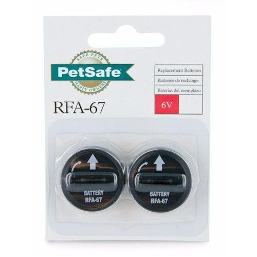 Petsafe Replacement Batteries 6 Volt 2 Rfa 67d 11